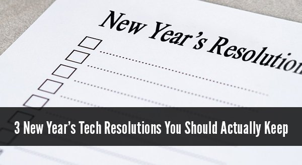New Year's Resolution Email